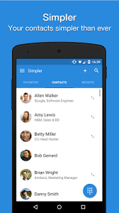 contacts apk simpler contacts dialer pro v5 4 4 apk free