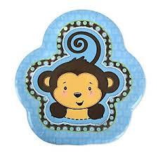 monkey boy baby shower monkey boys baby shower decorations theme babyshowerstuff