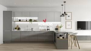 white gloss kitchen cupboards howdens hockley kitchen range