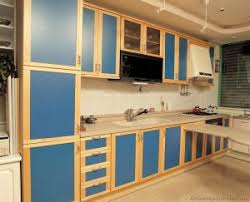 kitchen new two tone kitchen cabinets blue and white painted