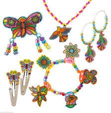 shrinky dinks jewelry making kit craft kits for kids girls toys
