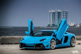 Lamborghini Aventador Colors - lamborghini aventador lp 700 4 by dmc in azure blue color front