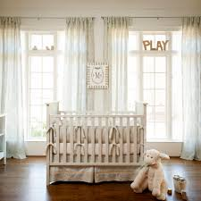 Nursery Bedding And Curtains Awesome Crib Bedding Neutral Colors What Costumes Frightening