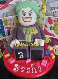 3d joker lego cake by gadgetcakes on deviantart