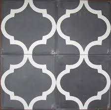 Jatana Interiors Charcoal Arabesque Reproduction Tile Jatana Reproduction Tiles