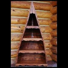 Canoe Bookcase Solid Wood Bookshelves Prairie Mountain Furniture