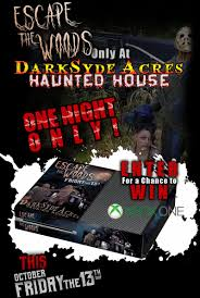 escape the woods darksyde acres haunted house