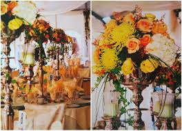 fall wedding centerpieces rustic autumnal wood tablescapes loversiq