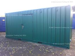 20ft container conversions lined and insulated storage