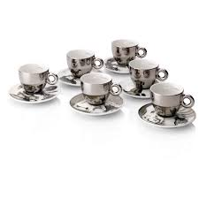 Cappuccino Cups by William Kentridge Cup Collection Illy Eshop