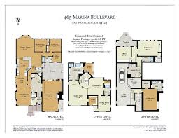 Marina Square Floor Plan 465 Marina Boulevard San Francisco Property Listing Mls 435781