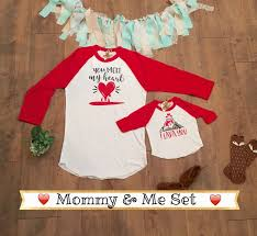 valentines shirt and me and me shirts shirt set