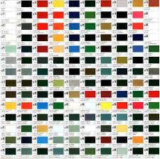 mr color paint chart real fitness