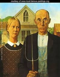 the most famous paintings web gallery g gustave courbet american gothic grant wood www