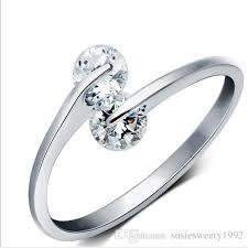 girls golden rings images 2018 crystal golden rings finger shape adjustable wholesale jpg