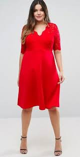 Red Cocktail Dress Plus Size 36 Plus Size Wedding Guest Dresses With Sleeves Alexa Webb
