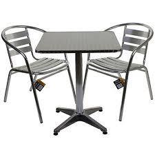 Aluminium Patio Sets Unbranded Aluminium Garden U0026 Patio Furniture Sets Ebay