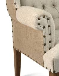 Beige Wingback Chair Wingback Chair Tufted Zentique