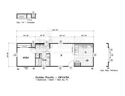 Mfg Homes Floor Plans by Floor Plans Golden Pacific Series Tlc Manufactured Homes