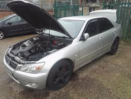 silver lexus lexus is200 silver 6gears tinted quick sale timing done 56k in