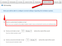 email invitations customizing invitation emails welcome to onsync 1