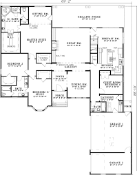 3 4 or 5 bedroom house plan 59567nd architectural designs