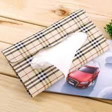 porte box auto voiture pare soleil tissue box auto accessoires porte serviette en
