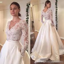 plus size wedding dresses with pockets discount 2016 vintage lace wedding dresses sleeve lace