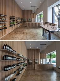 Furniture Store Downtown Los Angeles Cardboard Tubes Have Been Used Throughout This Aesop Store In