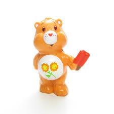 care bears brown eyed rose