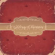 red vintage christmas background vector eps8 stock vector