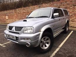 mitsubishi l200 4wd trojan pickup diesel 12 month mot in