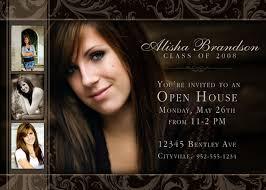 graduation open house invitations 30 best open house invitations images on graduation