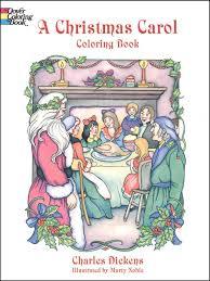christmas carol coloring book 000515 details rainbow resource