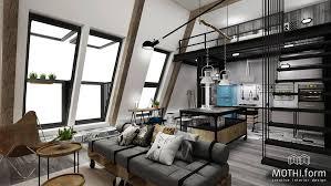 industrial loft design home design ideas
