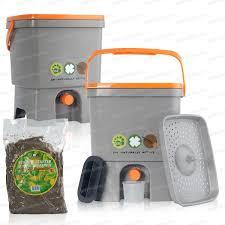 poubelle compost pour cuisine composteur de cuisine bokashi micro organismes bokashi micro