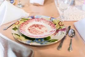mismatched plates wedding mismatched china diy wedding
