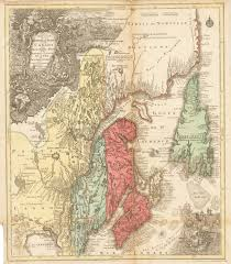 New France Map by Eastern Part Of New France Or Canada With The Island Of