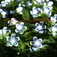 aliexpress buy 12m 100led solar flower string lights cherry