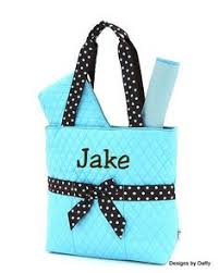 argyle pattern quilted personalized bag bags bags
