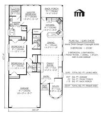 Narrow Lot Floor Plans by 100 One Bedroom One Bath House Plans Floor Plans And