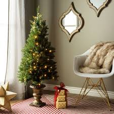 4 u0027 artificial christmas porch tree for indoor outdoor use free