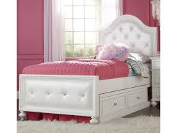 Tufted Bed With Storage Legacy Classic Kids Madison Full Upholstered Bed With Button