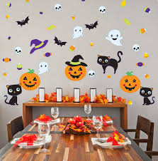 super spooky halloween wall decals for kids room bellebebeblog com