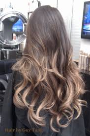 brown and blonde ombre with a line hair cut best 25 guy tang blonde ideas on pinterest blonde hair