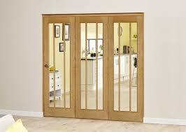 78x30 Exterior Door 2361 X 2078mm Lincoln Oak 3 Door Roomfold Deluxe 3 X 762mm Doors