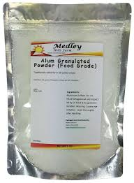 buy alum medley farm alum granulated powder food grade