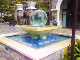 Sphere Interiors Sphere Fountains U0026 Water Features For Your Garden Allison Armour