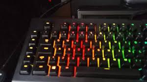 razer blackwidow chroma lights not working razer blackwidow chroma v2 problem youtube