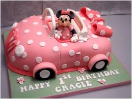 car cake your with this minnie mouse car cake